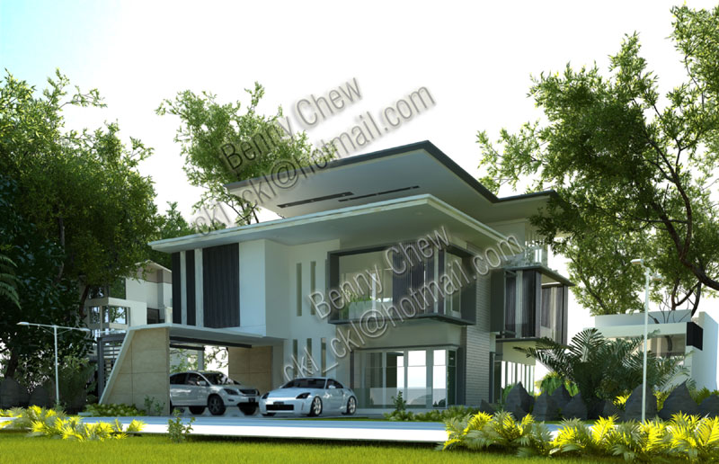 Modern bungalow house plans malaysia House style ideas